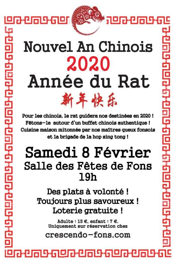 Nouvel an Chinois - Année du rat