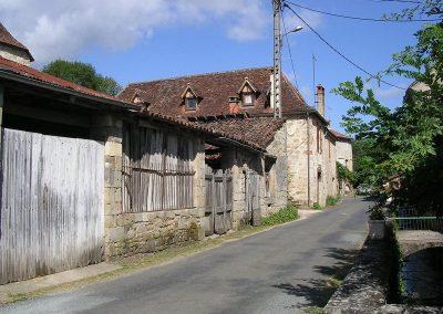 Rue de la cheminée Sarrazine