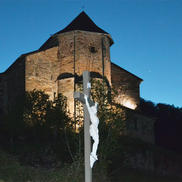 Église de Fons de nuit