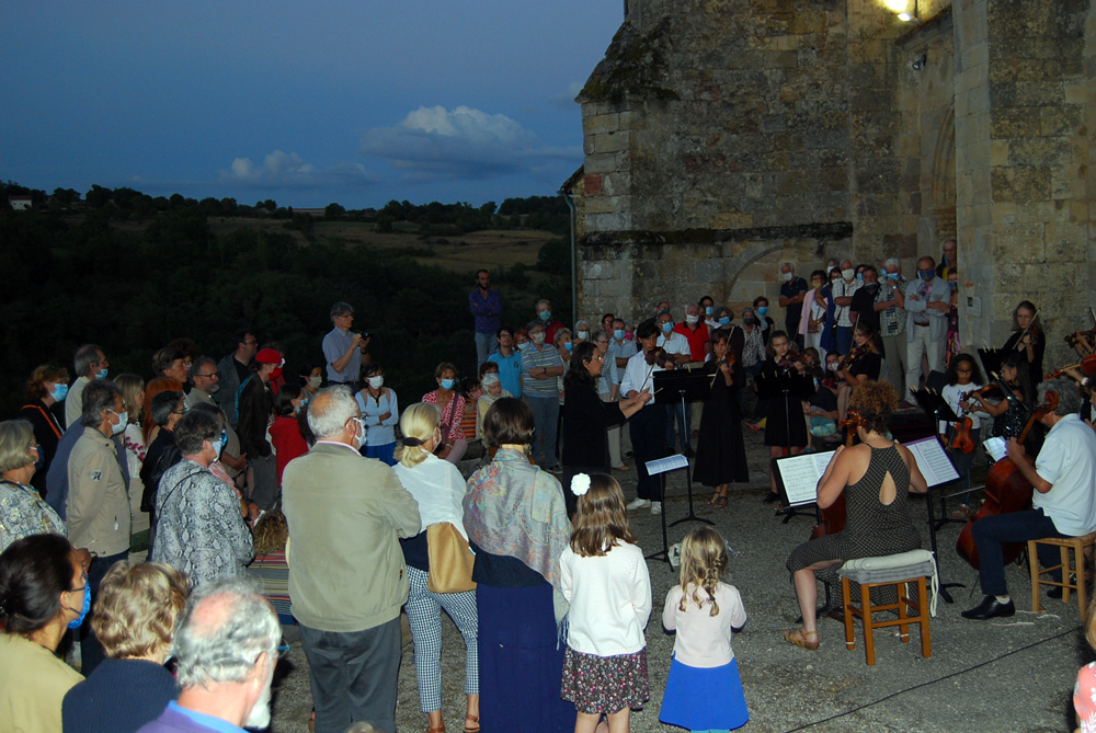 Le final du festival des Rencontres musicales de Figeac… à Fons