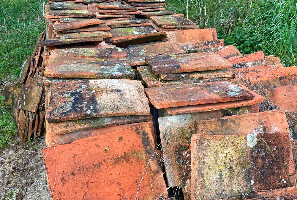 Vente lot de Tuiles plates anciennes